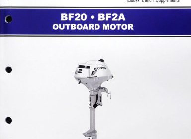 Honda bf20 bf2 marine outboard motor service repair shop for Boat motor repair shops